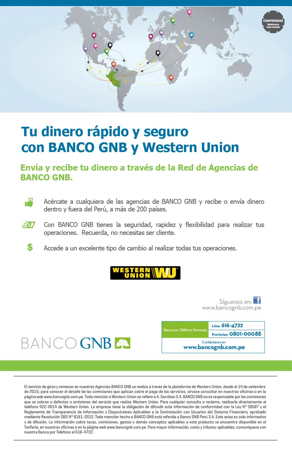 Western union for Banco exterior internet 24